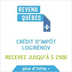 Crédit d'impôt LogiRénov