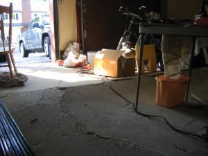 pyrite garage